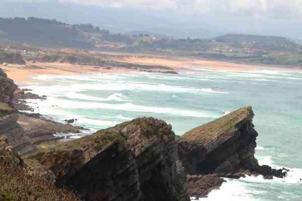 cantabria beach northern spain