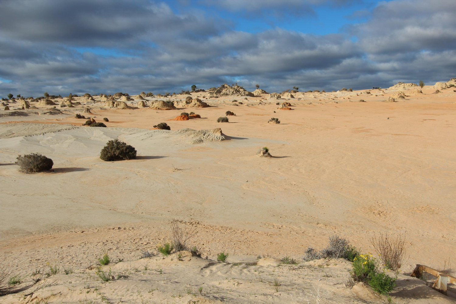 The Walls of China sand dunes at Lake Mungo. Mungo National Park. North West Victoria Tour, July 2020.