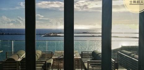 。沖繩 瀨長島。POSILLIPO 義式餐廳:超過180度的好景觀,欣賞瀨長島地中海風景的下午茶。