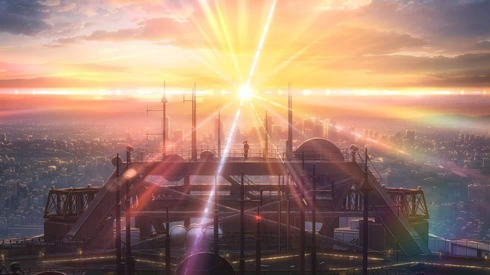 """。東京 天氣之子場景。(微雷)跟著""""天氣之子""""跑東京,12個在東京的動畫場景總攻略,天氣之子聖地巡禮展開!!!"""