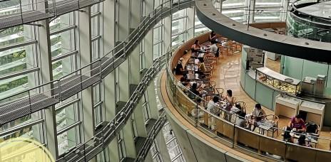 。東京 六本木。Salon de Thé ROND:因為你的名字爆紅的咖啡廳,是在美術館裡的好味道。