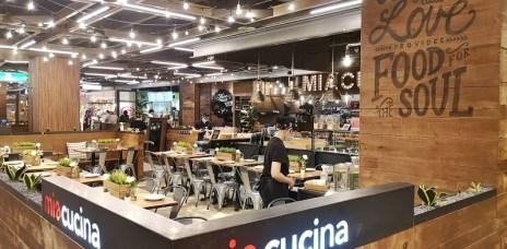 。台中 新光三越。Miacucina-義式蔬食料理,無肉也可以喔~