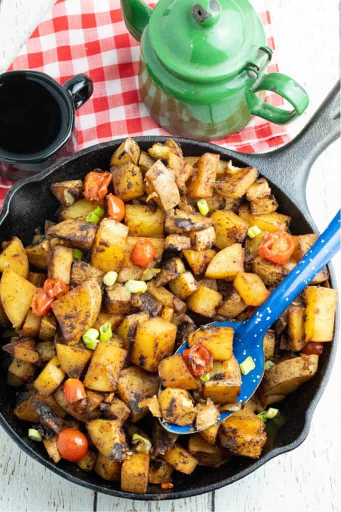 If you buy from a link, we may earn a commiss. Easy Breakfast Potatoes Eatplant Based