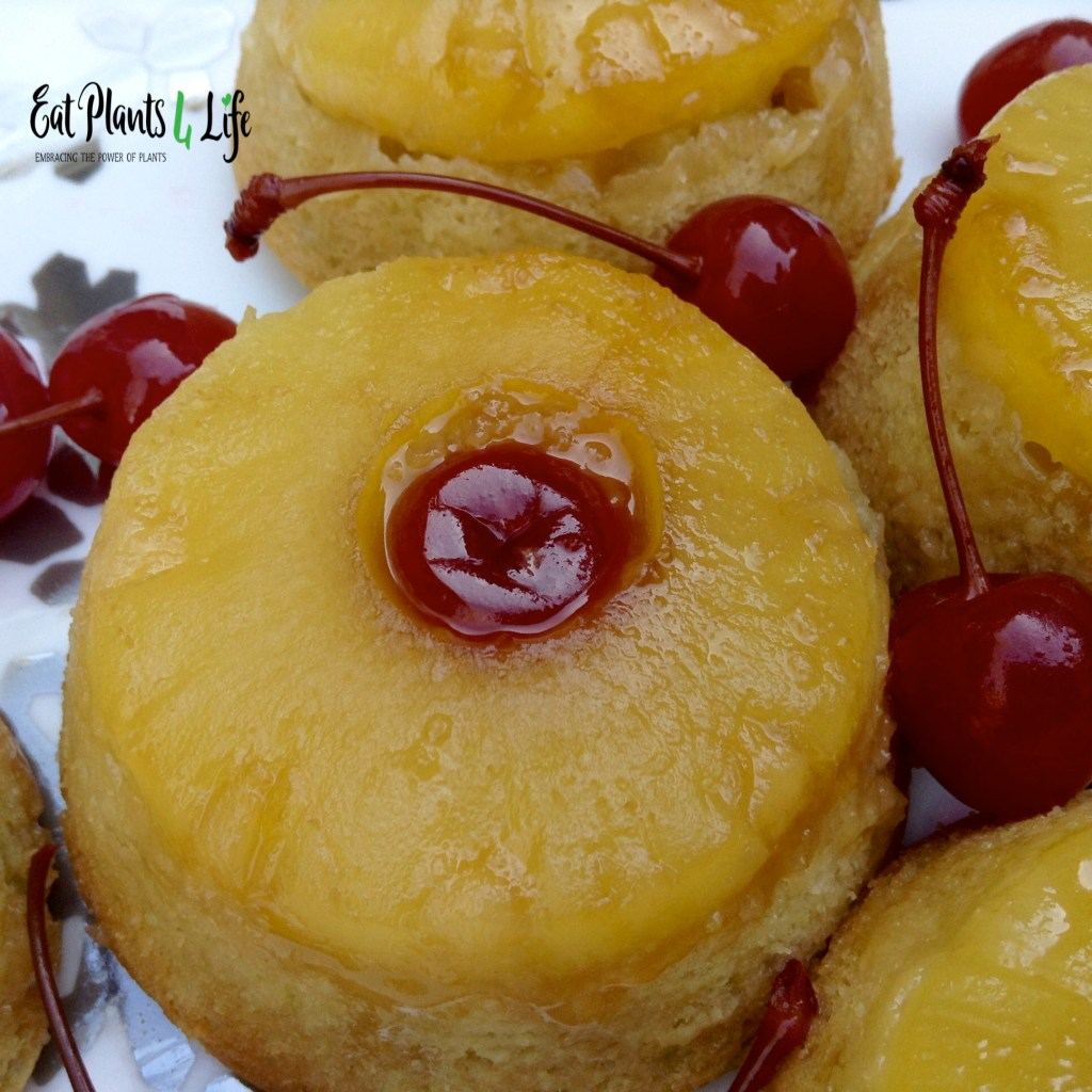 Pineapple Upside-Down Mini Cakes 5