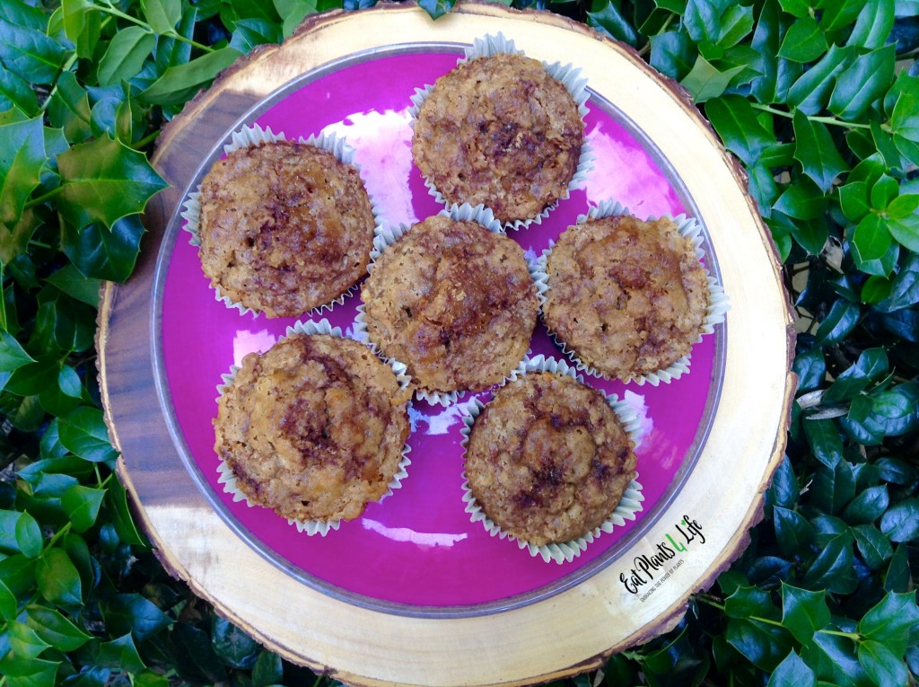 Oil Free Banana Mega Muffins 3