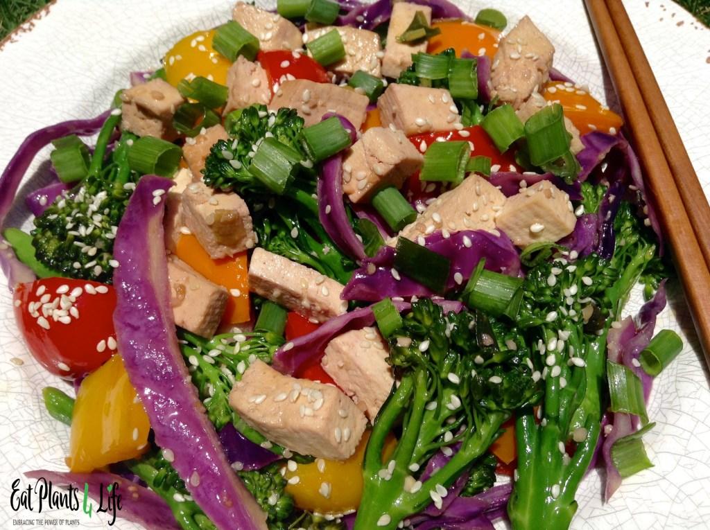 Sesame Tofu Stir-fry 3