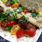 Vegan Falafels & Avocado Aioli