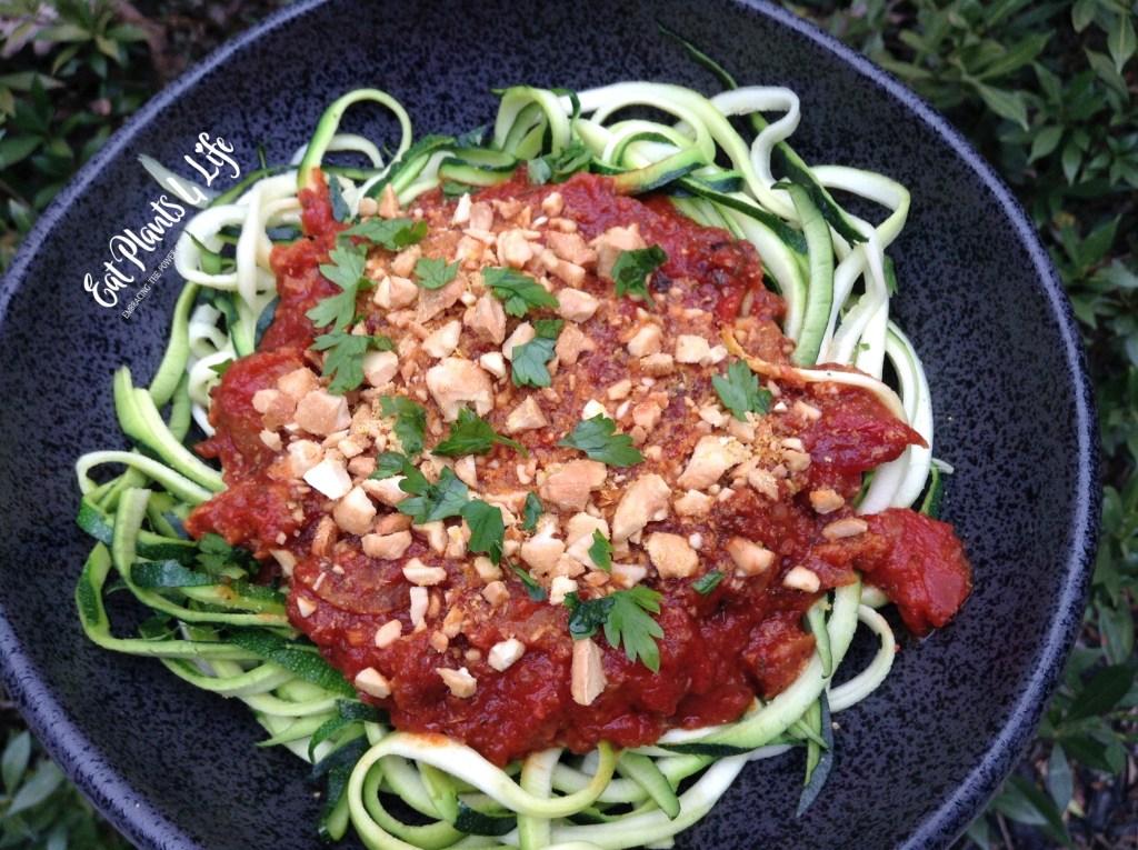 Zoodles | Zucchini Noodles | Eat Plants 4 Life 3