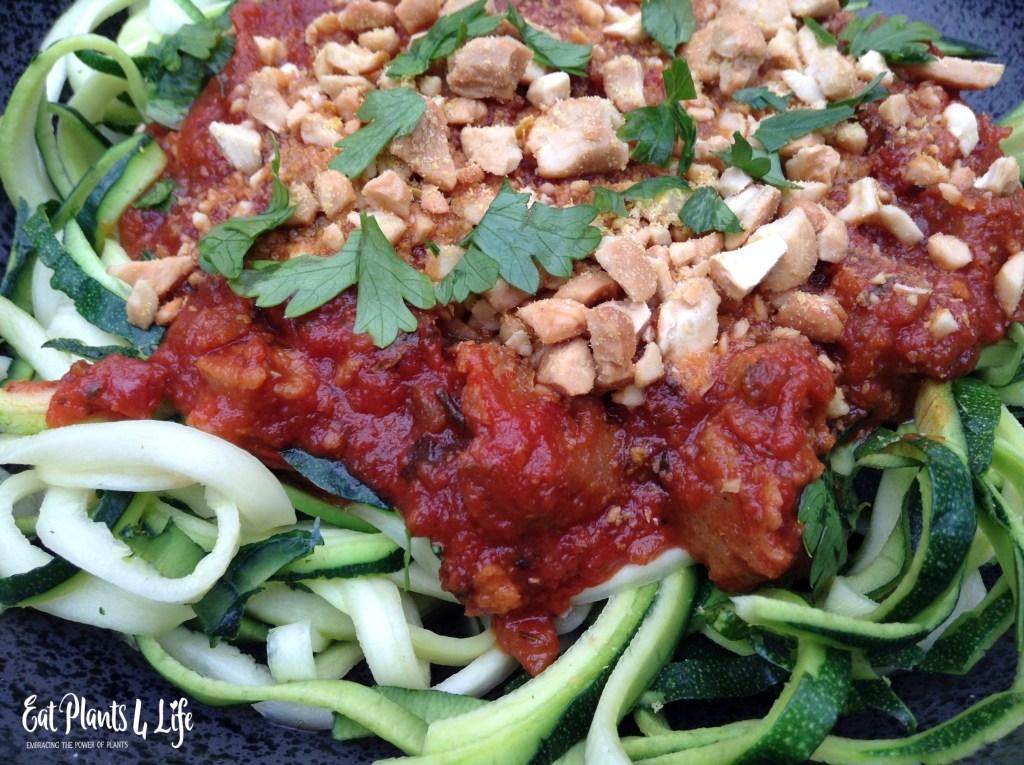 Zoodles | Zucchini Noodles | Eat Plants 4 Life 4