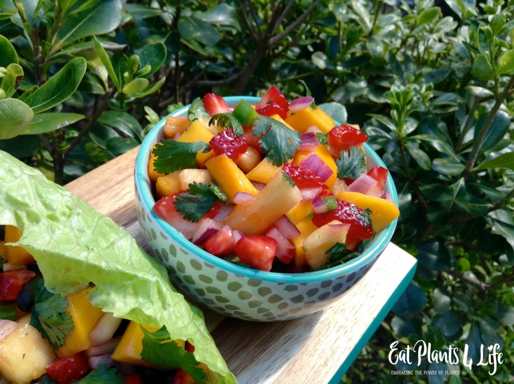 Tropical Salsa: The Sweeter Side of Salsa | Eat Plants 4 Life 4