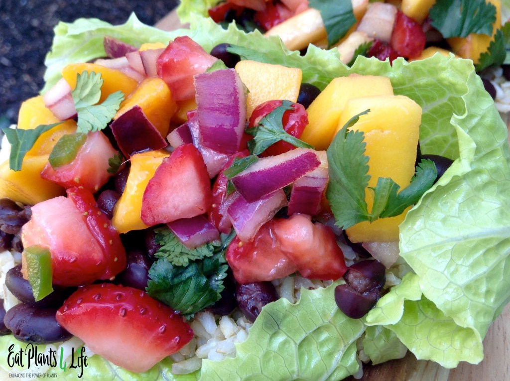 Tropical Salsa: The Sweeter Side of Salsa | Eat Plants 4 Life 3