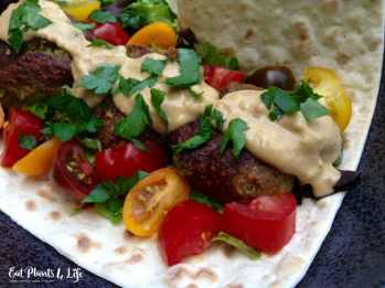 Vegan Falafels & Avocado Aioli 2