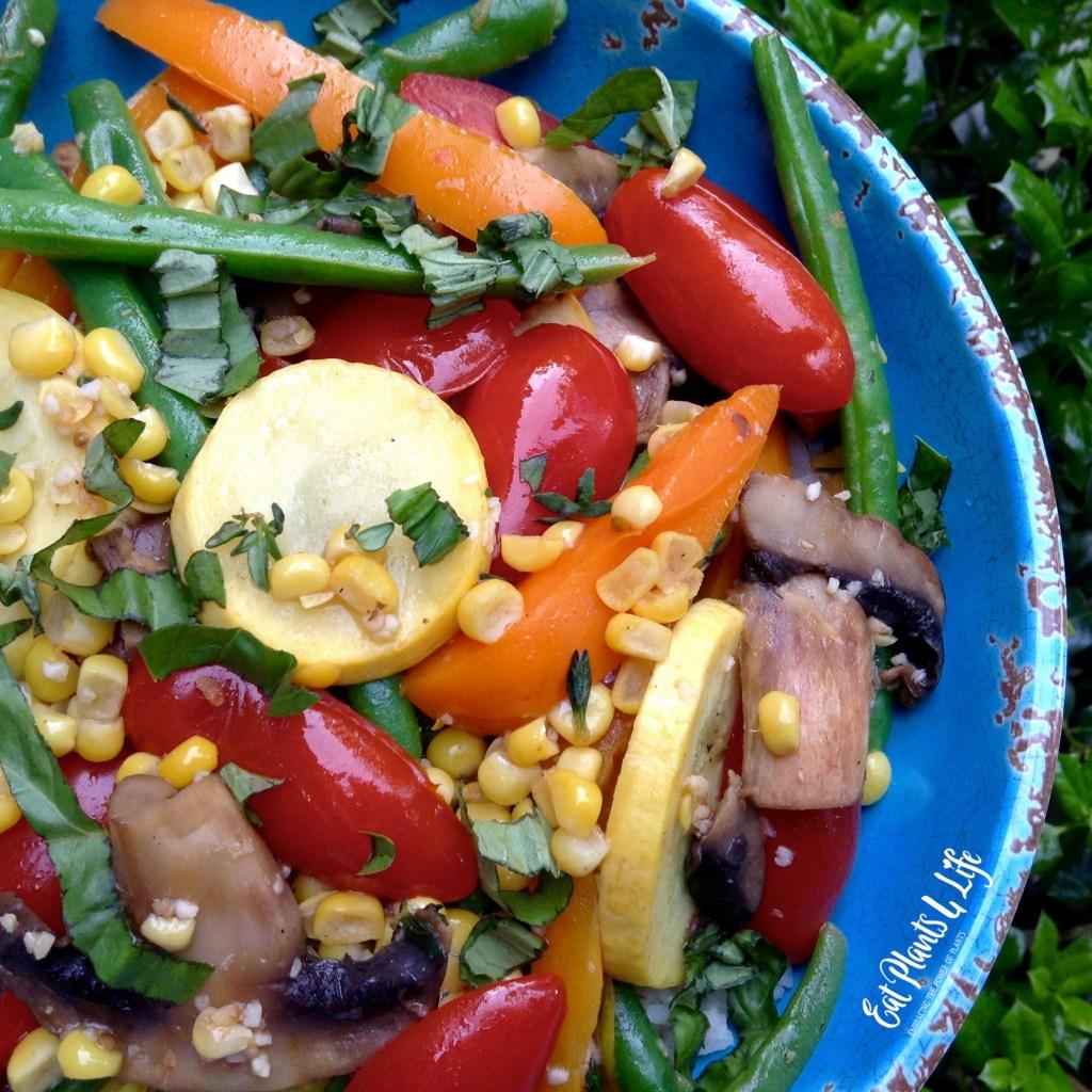 100 Days of Summer Garden Veggies 2