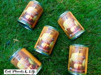 cans of pumpkin