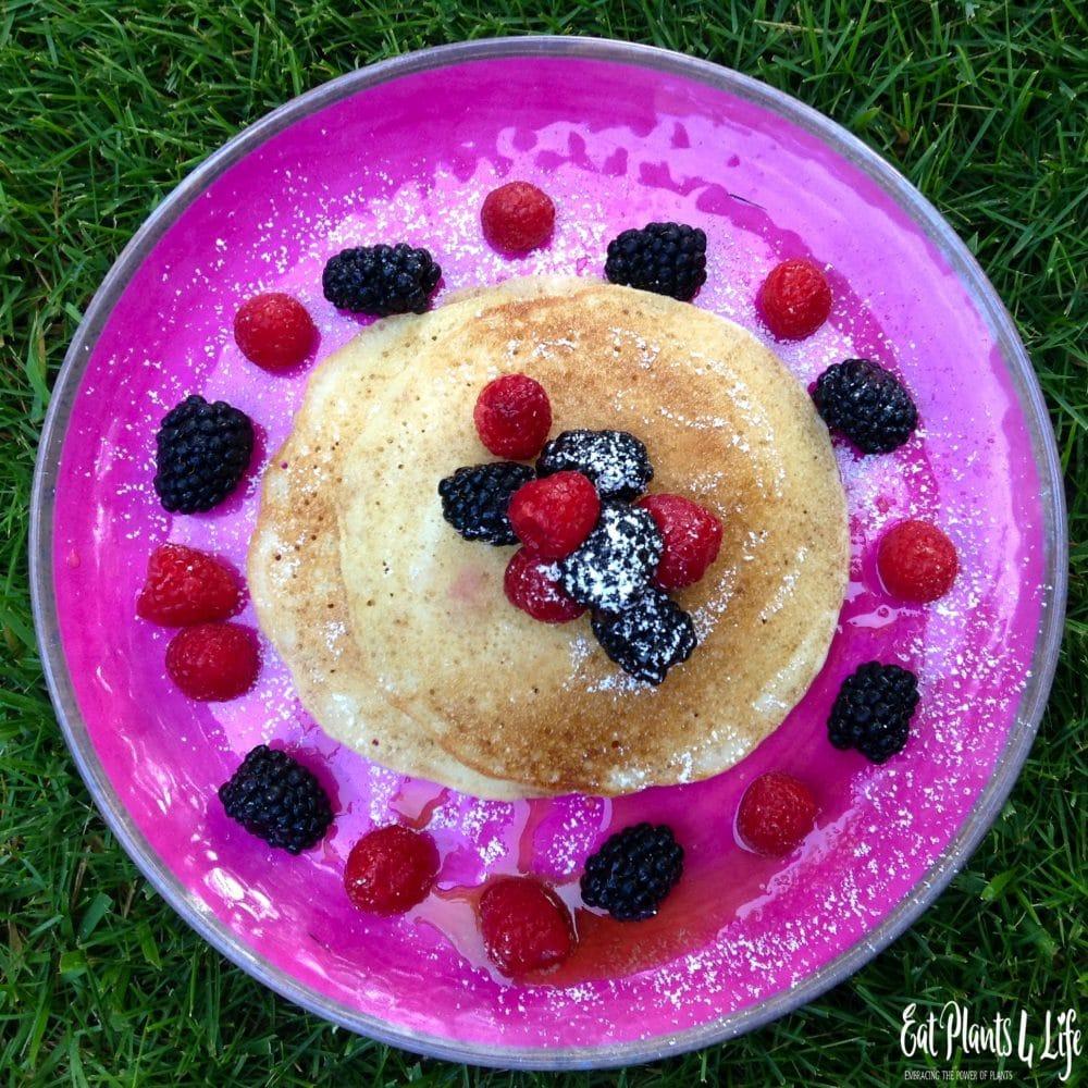 Sweet Potato Pancakes | Best Vegan Pancakes | Eat Plants 4 Life