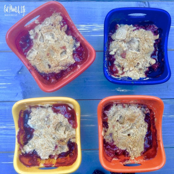 berry apple crisp 6