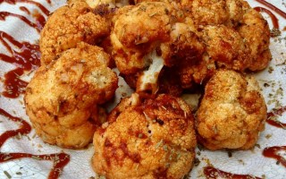 buffalo roasted cauliflower 2