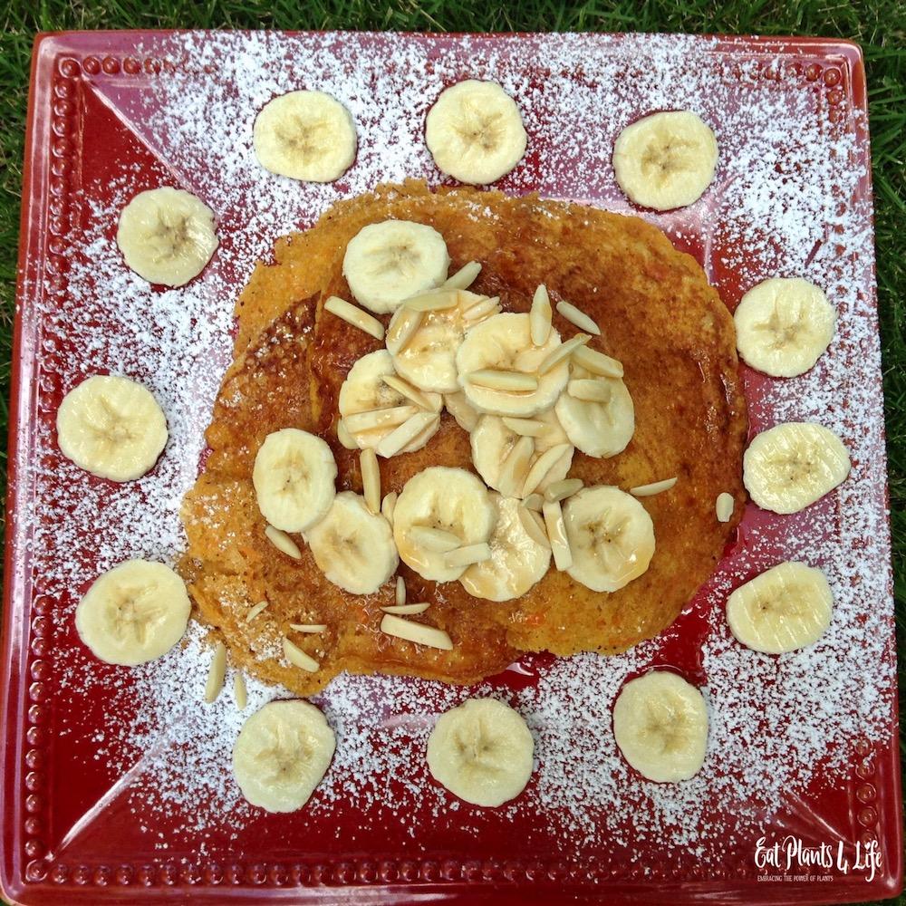Sweet Potato Pancakes | Best Vegan Pancakes 3