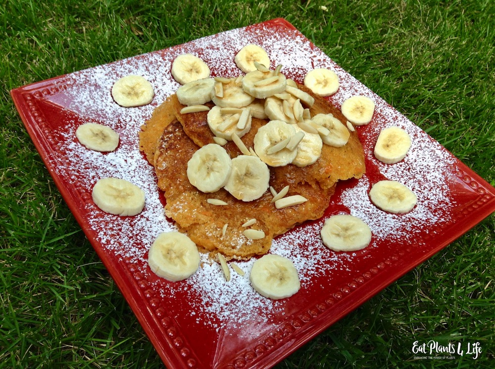 Sweet Potato Pancakes   Best Vegan Pancakes 6