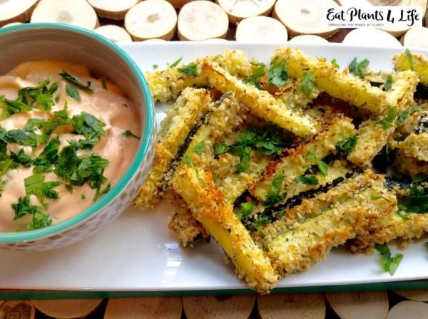 baked zucchini fries 8