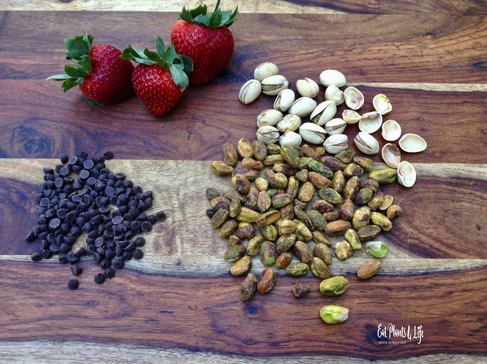 National Chocolate-Covered Nut Day, National Pistachio & Strawberry Day