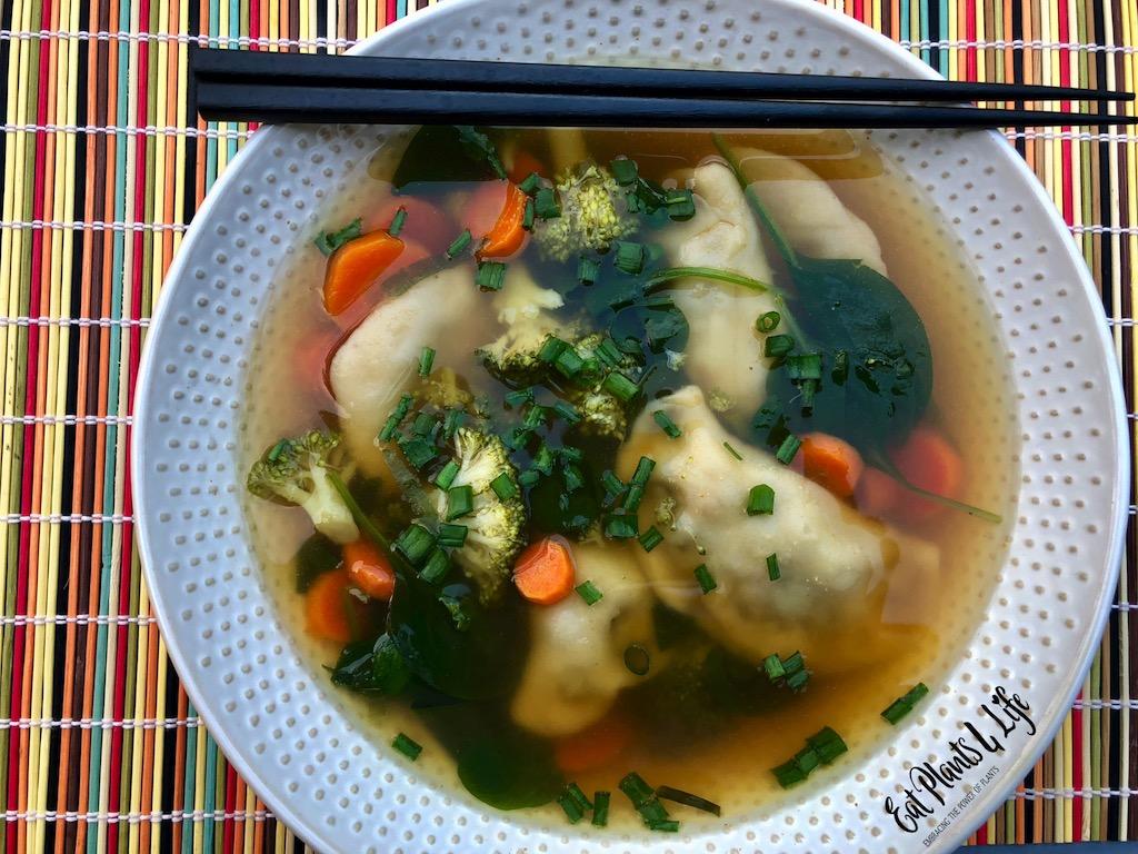 Aquafaba Vegan Dumplings 2