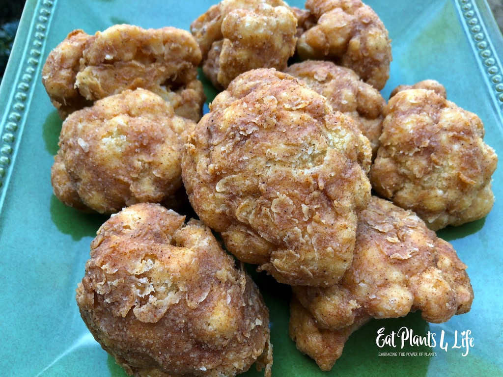 Chicken Fried Cauliflower - Vegan Style with Eat Plants 4 Life 2
