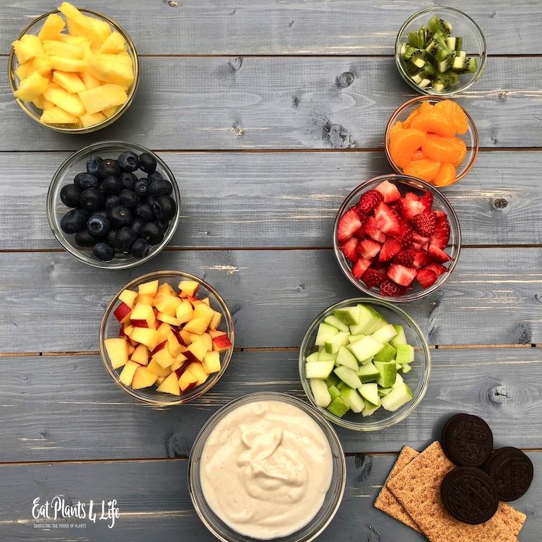 Fruit Trifles ingredients