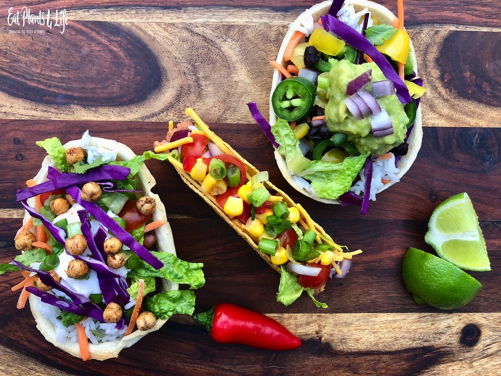 Vegan Tacos Recipe: Vegan Taco Tuesday with Eat Plants 4 Life