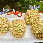 Vegan Peanut Brittle Apples