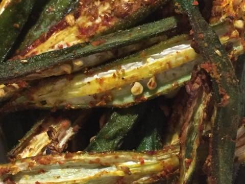Roasted Okra Recipe