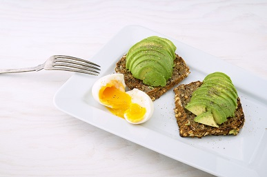 Sprouted 7 Grain Bread Toast with Avocados