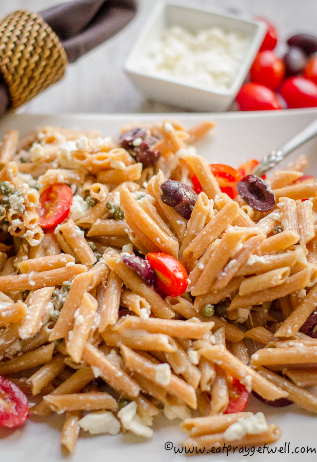 pasta with olives and feta 2