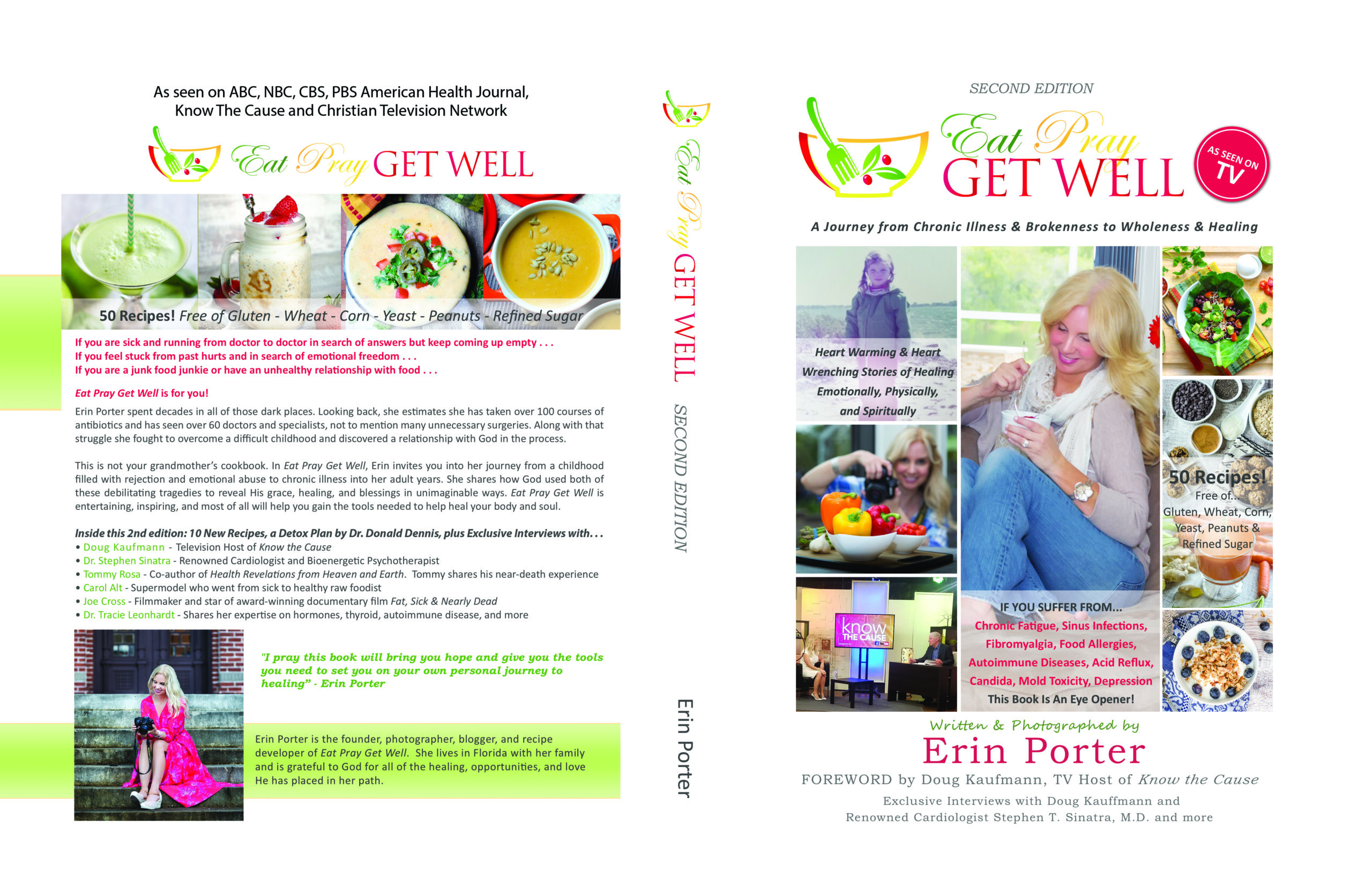 Eat Pray Get Well - Second Edition Book Cover