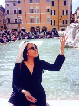 wishing for la dolce vita by the Trevi Fountain!