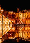 Paris: 'The Louvre', 12am, by Philip Newell