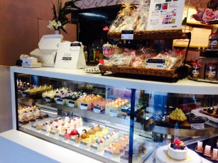 Variety of sweets to go