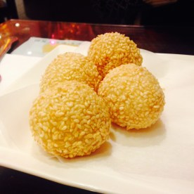 Deep fried sesame balls