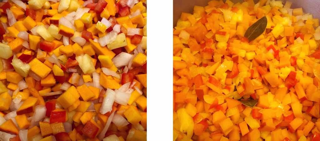 Kürbis Pumpkin Chutney Zutaten Herbstrezept