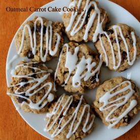 oat carrot cookies 2