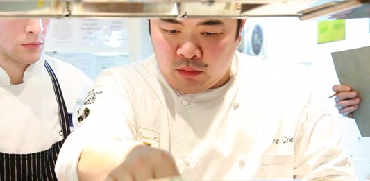 Chef Alex Chen of Vancouver's Boulevard Kitchen & Oyster Bar
