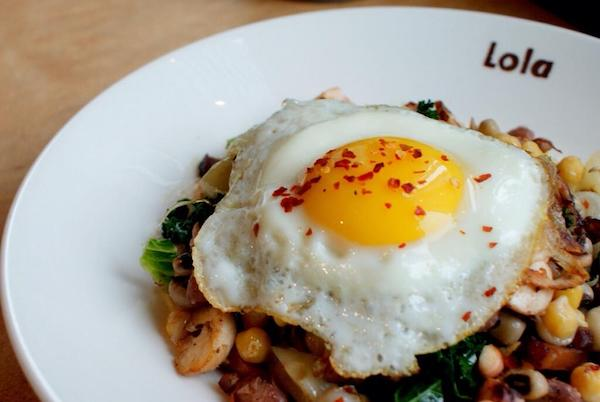 Tom's Favorite Breakfast from Lola. Photo credit: Jerad Knudson.
