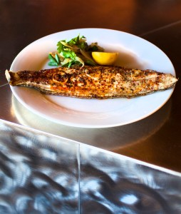 "Oven-roasted Gulf fish ""fisherman's style."" Photo credit: Chris Granger"