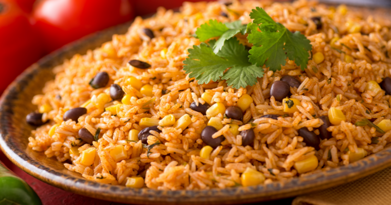 SPICY MEXICAN RICE PILAF