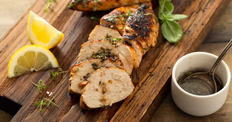 Perfectly Moist Reverse Seared Chicken Breasts