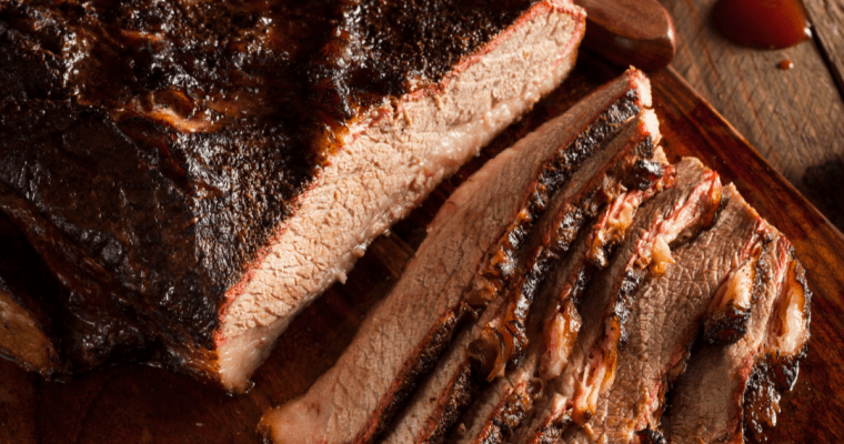 PERFECT OVEN ROASTED BEEF BRISKET