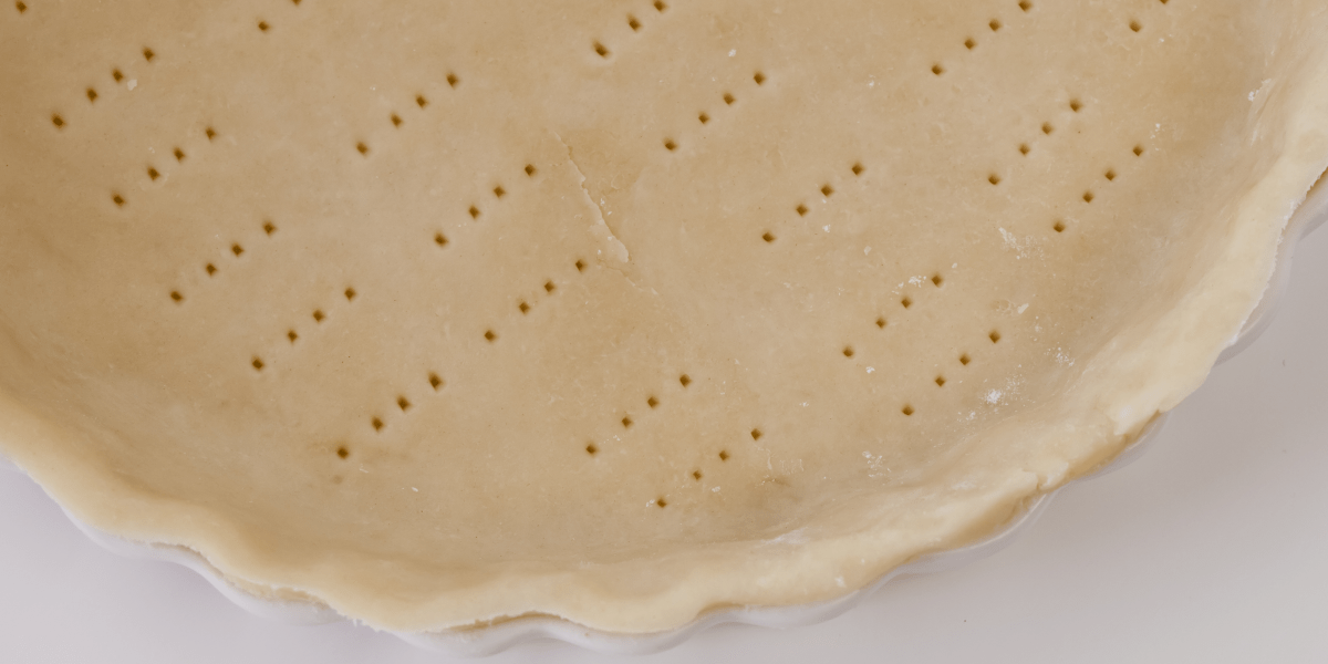 BUTTER AND VODKA PIE CRUST