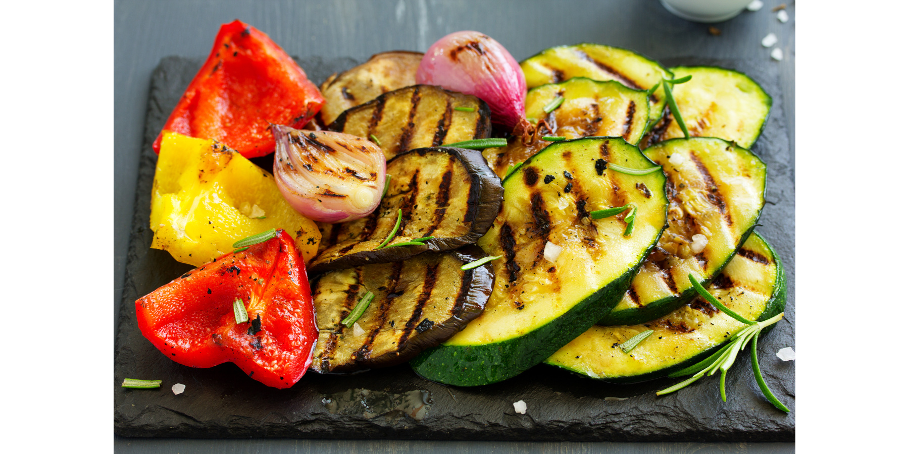 ROSEMARY GARLIC GRILLED VEGETABLES