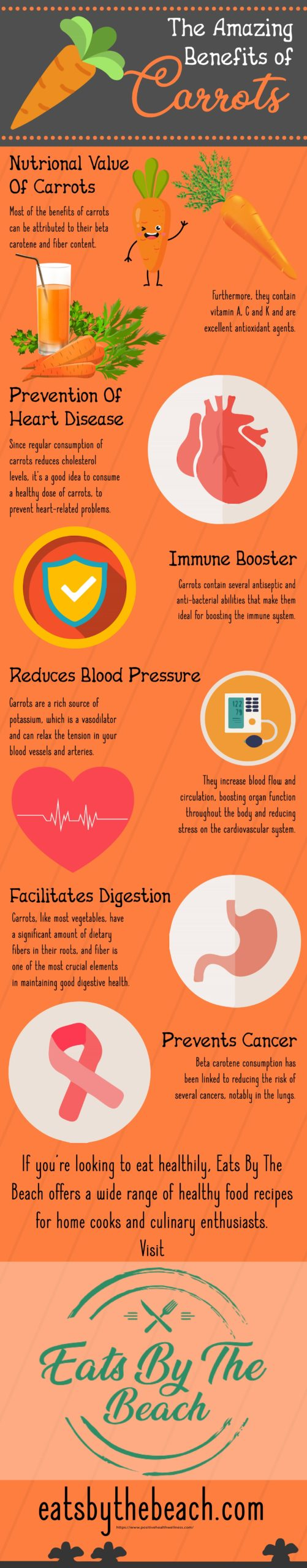 The amazing benefits of carrots