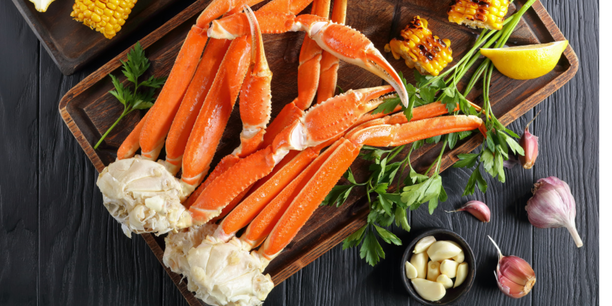 EASY STEAMED SNOW CRAB LEGS